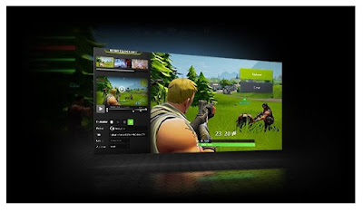 Additional tools and software from NVIDIA with Geforce Experience