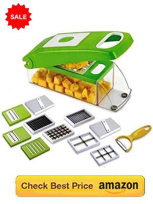 Quick Vegetable Cutter: 12 unique functions