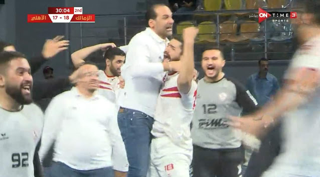 الزمالك يحصد دوري كرة اليد بعد تغلبه على الأهلي في مباراة ماراثونية