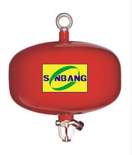 Bình chữa cháy tự động dùng bột ABC 8kg