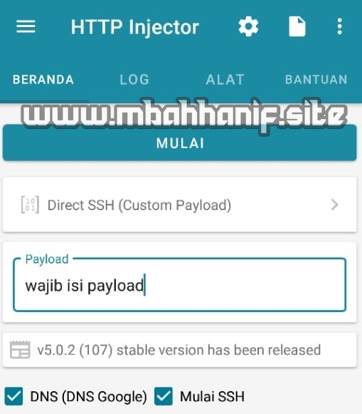 Http injector android