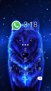 Download Wolf CM Security AppLock Theme App