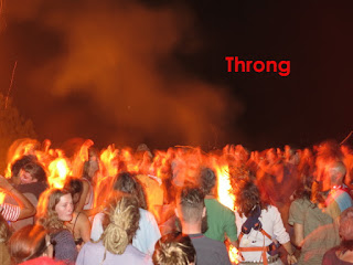 Fire Festival Throng. #VisualFutureOfMusic #WorldMusicInstrumentsAndTheory