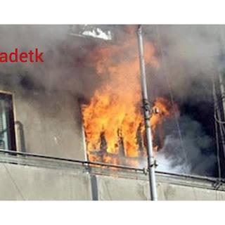 عاجل مصرع اربعة اطفال وجدتهم نتيجة حريق في شقة في الدقي