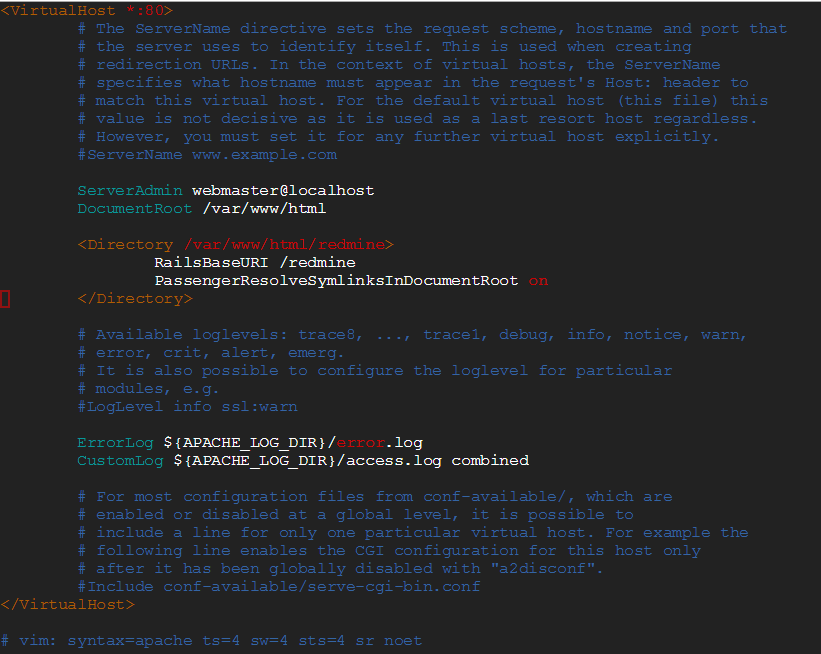 Install and Configure Redmine in Ubuntu ~ ServerKaKa