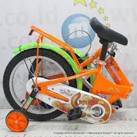 Sepeda Lipat Anak Evergreen EG116 Toread 16 Inci