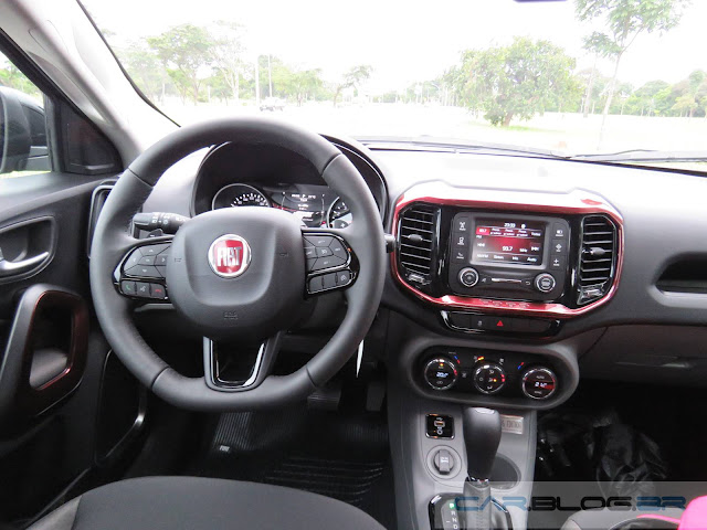 Fiat Toro 1.8 Flex - painel