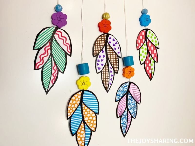 how to make decorative leaf wall hanging