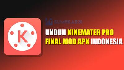 KineMaster Pro Indonesia Final Mod APK Full Unlocked Terbaru