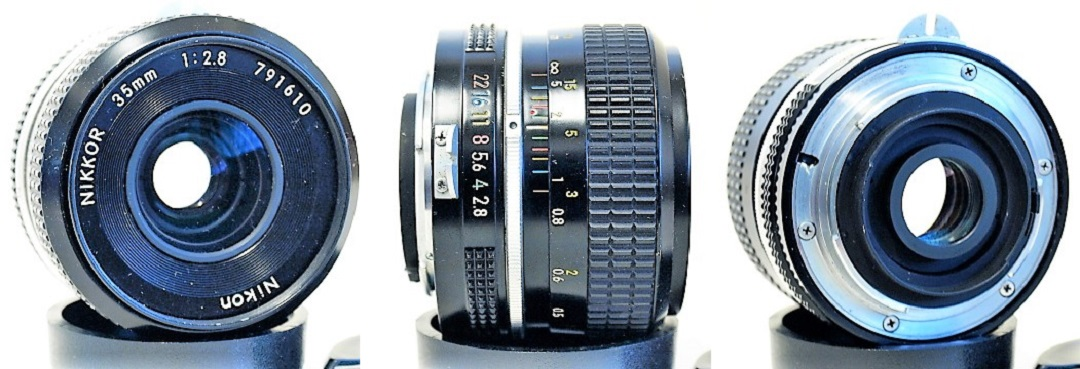 Nikon Nikkor Pre-AI 35mm 1:2.8 #610