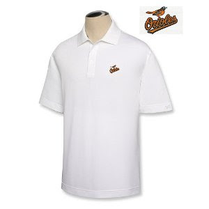 Big and Tall White Polo T-Shirt, MLB Apparel