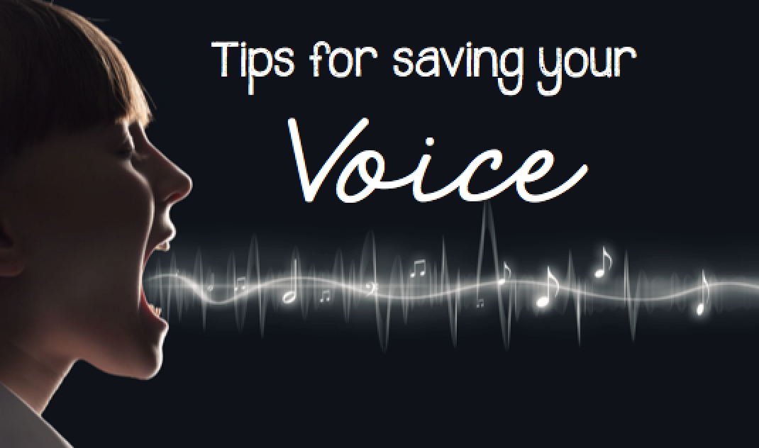 Tips for saving your voice: great read for any music teacher!