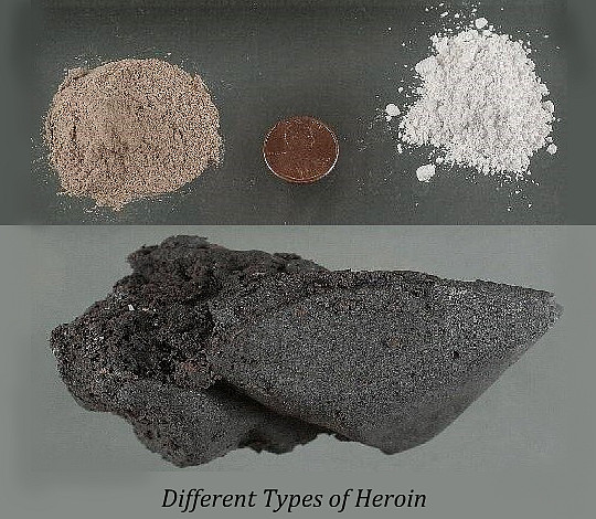 Different Types of Heroin