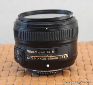 Jual Lensa AF-S Nikon 50mm f1.8 Bekas Banyuwangi
