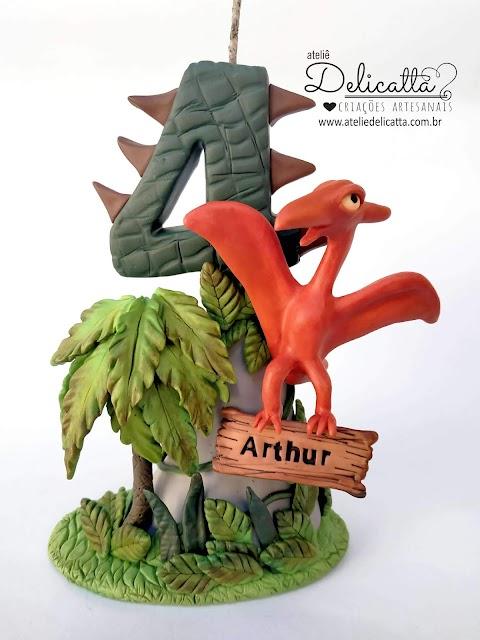 Vela dinossauro - Pterodáctilo
