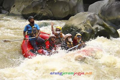 Rafting Jogja New Normal