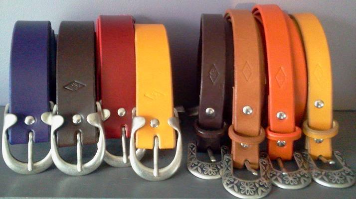 ceinture, cuir, peaux et chic, bullelodie