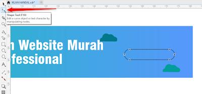 Cara Membuat Banner Iklan Dengan CorelDraw