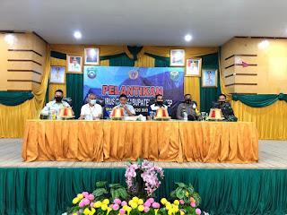 Kapolres Pangkep hadiri Pelantikan pengurus PBSI