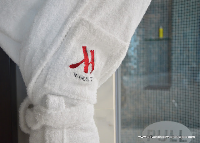 Marriott signature robe