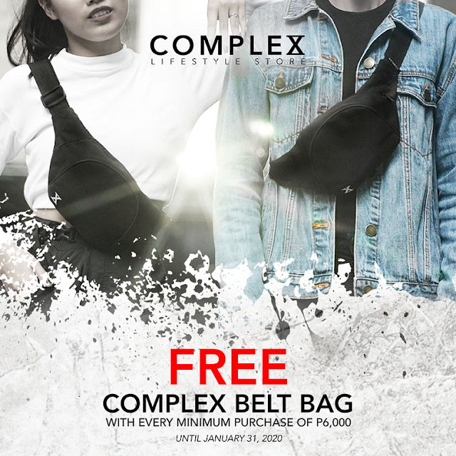 FREE BELT BAG from Complex Lifestyle Store