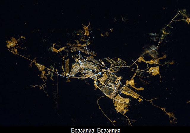 Ночная Земля из космоса 7