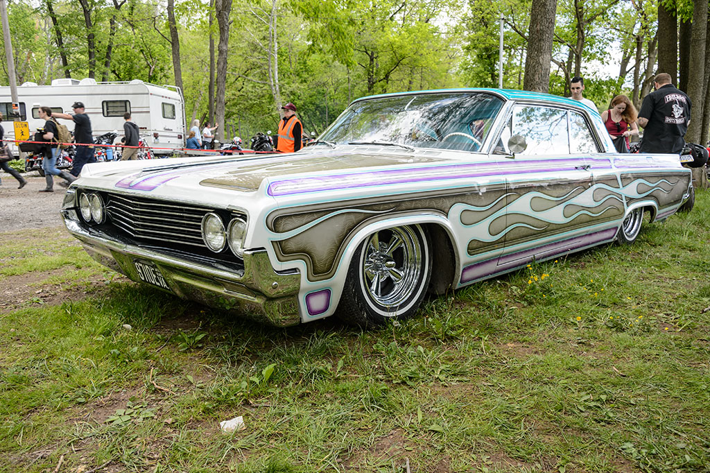 Lowrider at the Jalopy Showdown