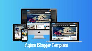 Agista Premium Responsive Blogger Template - Responsive Blogger Template