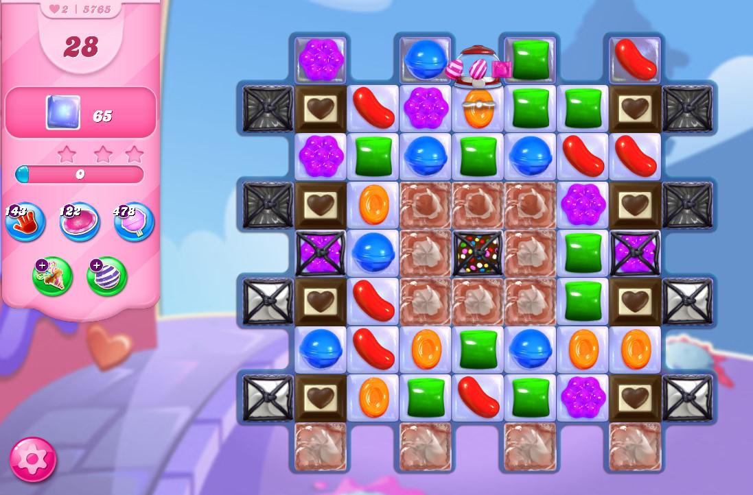 Candy Crush Saga level 5765
