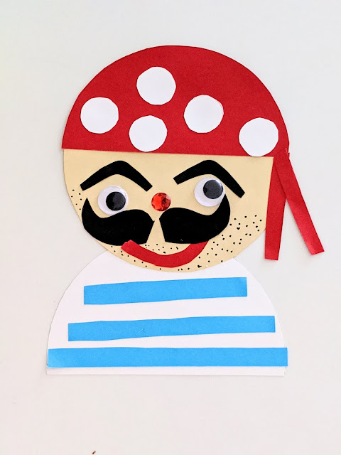 Adorable pirate craft for kids