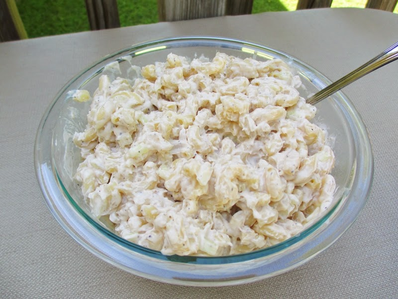 Giant Bowl of Homemade Macaroni Salad