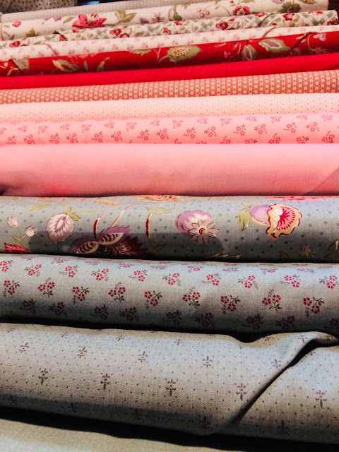 """Coleccion'Jardín de Versailles"""" de Moda Fabrics"""