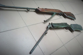 Senapan angin spring, senapan angin pegas, senapan peer