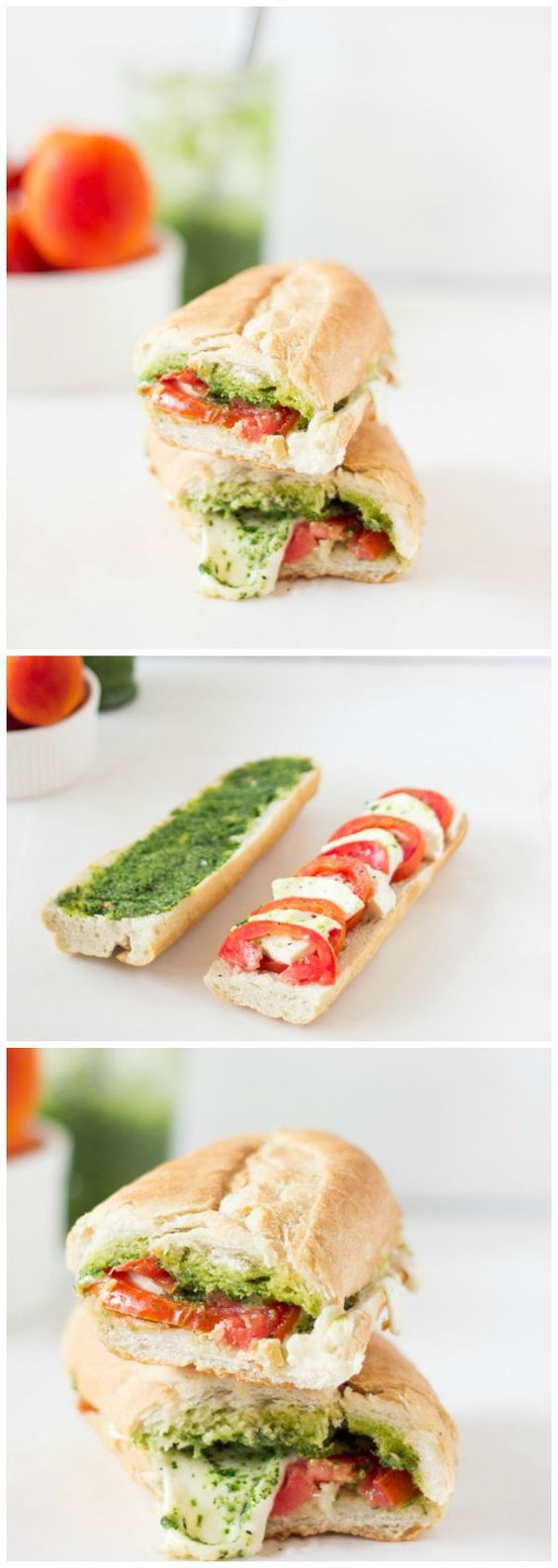 ★★★★☆ 6172 ratings       | Caprese Sandwich with Parsley Pesto #Caprese #Sandwich #Parsley #Pesto #Healthy