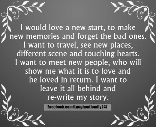 life new beginning