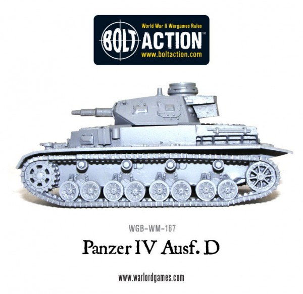 Battleground Hobbies: New Release - Bolt Action Panzer IV