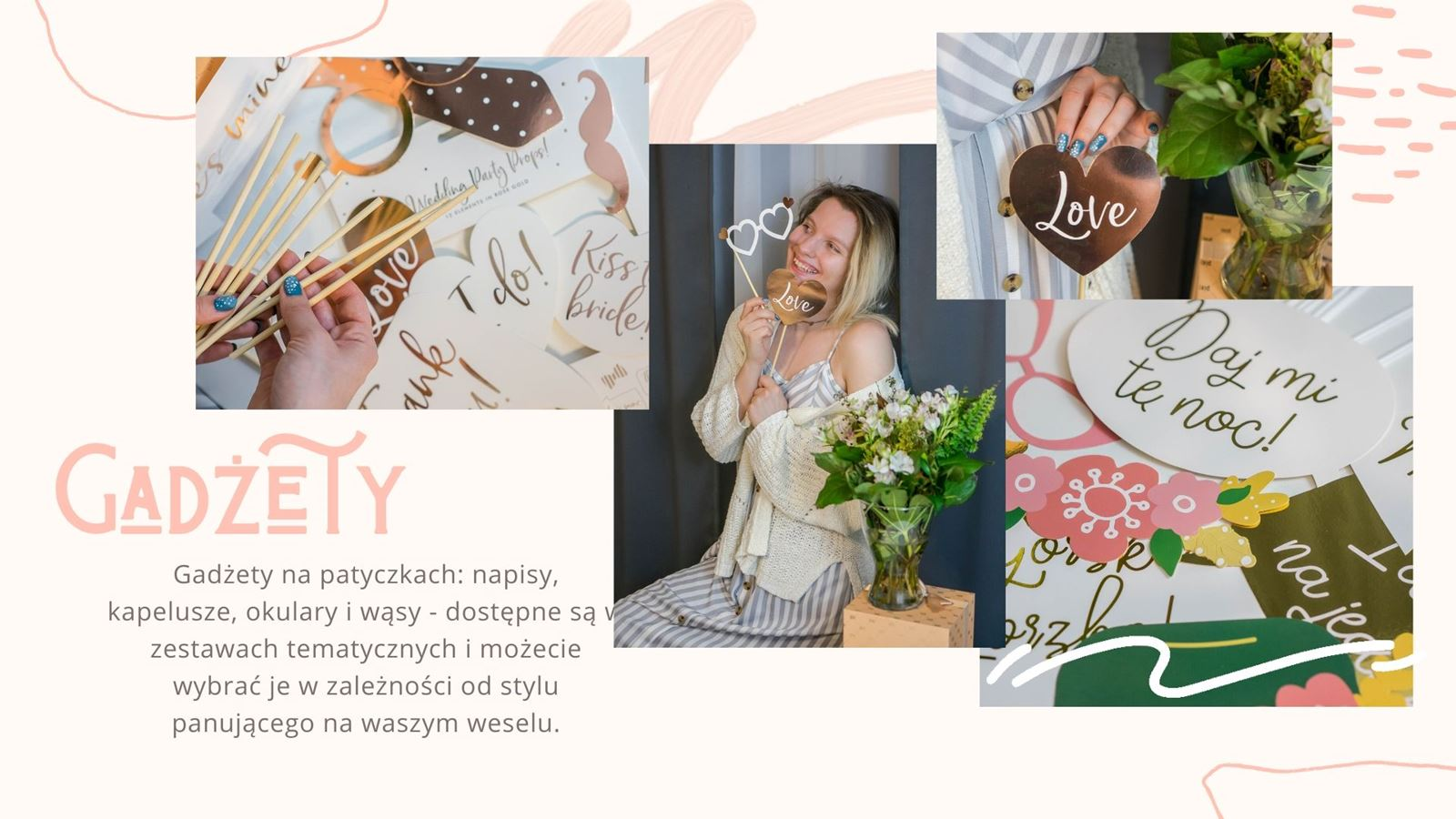 Jak zaoszczędzić na weselu Jak przygotować fotobudkę samemu Sfotobudką diy gdzie kupić tanio gadżety do fotobudki opinie recenzje sklep happenings pl wesele co mozna zrobic samemu taniej