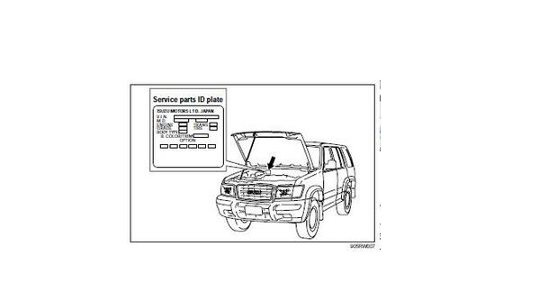 ISUZU TROOPER WORKSHOP MANUALS YEARS 1998-2004