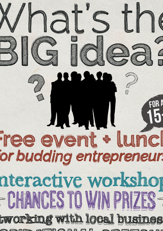 Poster for Entrepreneurial Event | Ellie W Media