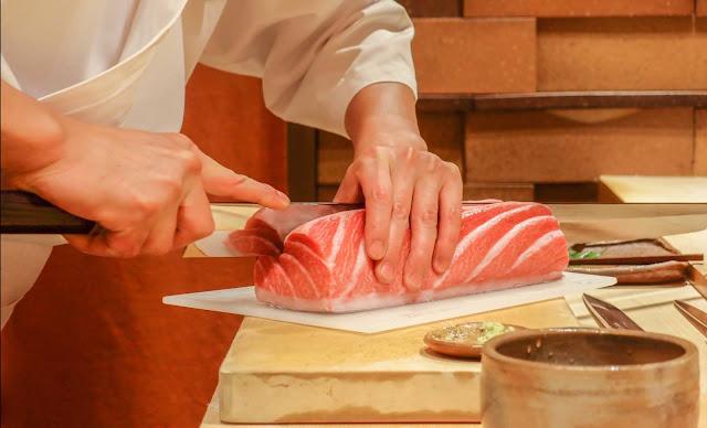 Iketeru, Hilton Kuala Lumpur – Mother's Day Live Tuna-cutting with Chef Masami