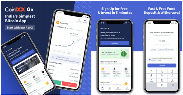 CoinDCX Referral Code - Free Bitcoin + $25 Refer & Earn