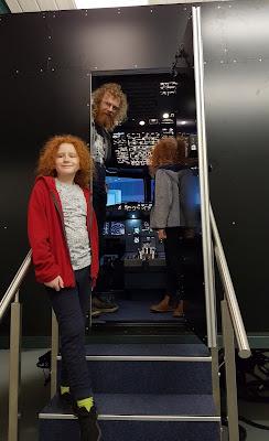 Airbus Flight Simulator in Manchester UK big enough for passengers