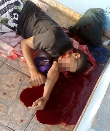 Homem é morto com um profundo corte no pescoço, em Cana Brava (Água Doce-MA)