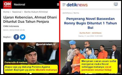 """Ahmad Dhani Nulis """"Diludahi Mukanya"""" Dituntut 2 Tahun, Bikin Cacat Orang Hanya 1 Tahun"""