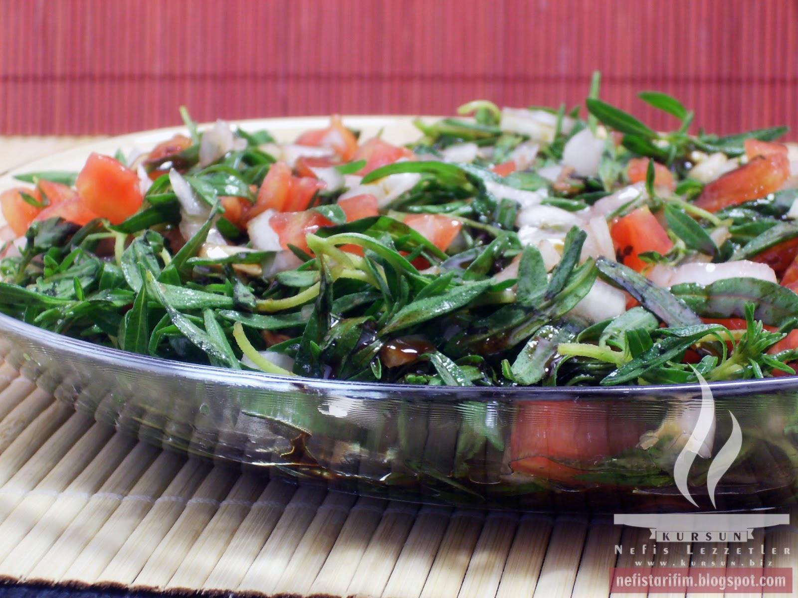 Zahter Salatası – Kekik Salatası Tarifi