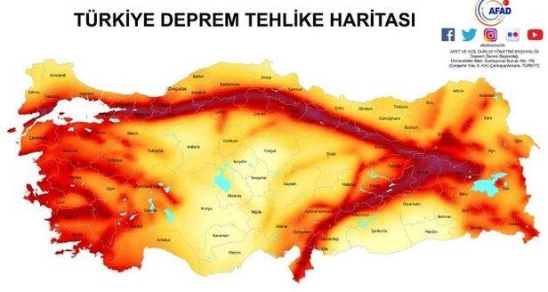 Fay hattı nedir? İşte Türkiye'de fay hattı geçen o yerler, Fay hattı sorgulama.