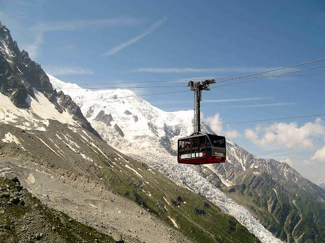 Teleférico de l'Aiguille du Midi – França