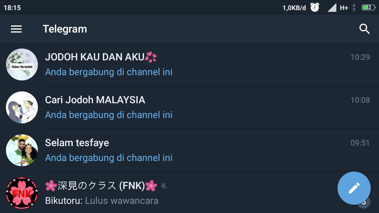 Cara Bergabung Channel Telegram