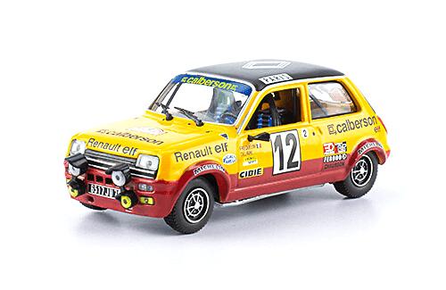 collezione rally monte carlo Renault 5 Alpine 1978 G. Frequelin 1:43