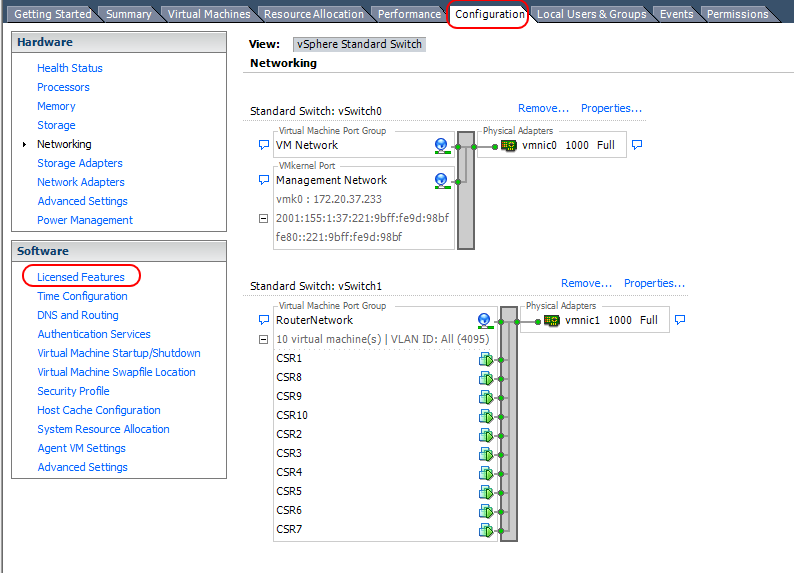 CCIE v5 INE Home Lab – Part 1-2-3 – Configuring VMware ESXi